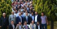 Sincan'lı esnaftan Ankaragücü'ne tebrik ziyareti
